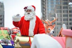 2013年多伦多圣诞老人游行 免版税库存图片