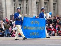多伦多圣诞老人游行2009年 免版税库存照片