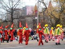 多伦多圣诞老人游行2009年 免版税图库摄影