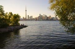 多伦多地平线 免版税图库摄影