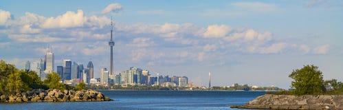 多伦多地平线 免版税库存照片