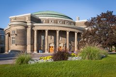 多伦多大学的集会霍尔 免版税图库摄影