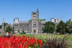 多伦多大学-前面校园 图库摄影