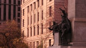 多伦多战争纪念碑 库存照片