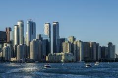 多伦多摩天大楼全景  免版税库存图片
