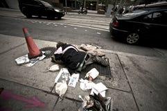 多伦多无家可归者 免版税库存照片