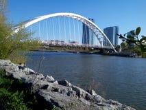 多伦多江边自行车足迹 库存图片