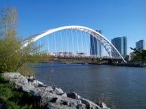 多伦多江边自行车足迹#2 免版税库存照片