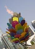 多伦多泛美航空2015火焰 免版税库存图片