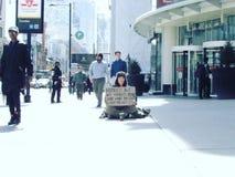 多伦多的人们 图库摄影