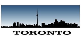 多伦多的地平线 免版税图库摄影