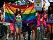 多伦多的第33每年骄傲游行 免版税图库摄影