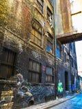 多伦多的街道画胡同 库存照片