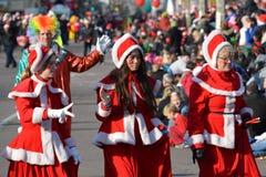 多伦多的108th圣诞老人游行 免版税库存照片