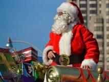 多伦多的108th圣诞老人游行 免版税库存图片
