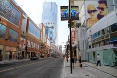多伦多的Yonge街道 库存图片