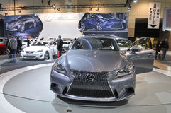 多伦多车展2013年 库存照片