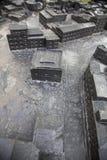 多伦多香港大会堂,纪念意大利竞选的加拿大士兵 免版税库存图片
