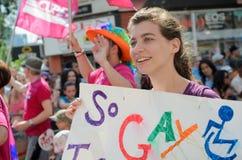 多伦多骄傲游行2014年 免版税库存图片