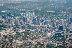 多伦多鸟瞰图 库存图片
