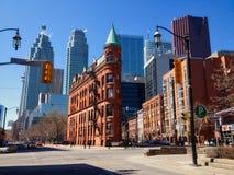 多伦多,加拿大,街市摩天大楼 免版税库存照片