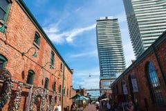 多伦多,加拿大- 2018年9月18日:槽坊区forme 免版税图库摄影