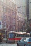 多伦多,加拿大3月15,2012 :街市多伦多看法有Th的 库存图片