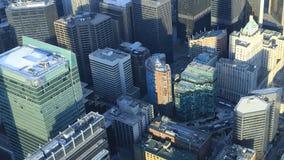 多伦多,加拿大4K Timelapse鸟瞰图  股票视频
