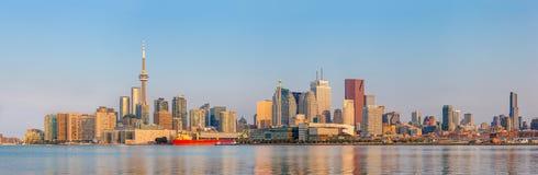 多伦多,加拿大Panorana  免版税图库摄影