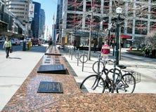 多伦多100工作者纪念碑2010年 库存照片