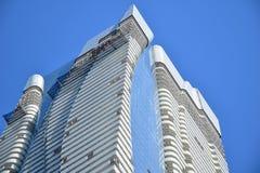 多伦多` s最新的豪华高层公寓顶楼  免版税库存图片