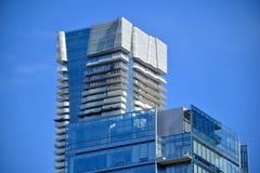 多伦多` s最新的豪华高层公寓顶楼  图库摄影