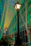 多伦多Brookfield安排圣诞灯 免版税图库摄影