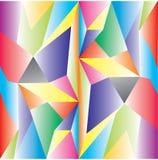 多低的传染媒介 抽象多角形几何三角背景 免版税库存图片