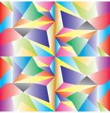 多低的传染媒介 抽象多角形几何三角背景 免版税图库摄影