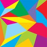 多低的传染媒介 抽象多角形几何三角背景 免版税库存照片
