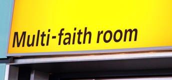 多信念祷告室 免版税库存图片