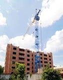 多公寓的建筑 免版税图库摄影