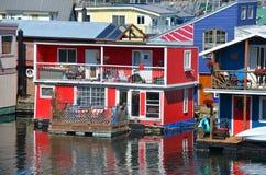 维多利亚内在港口,渔夫码头 免版税库存图片