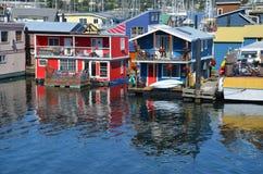维多利亚内在港口,渔夫码头 免版税库存照片