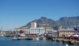 维多利亚和阿尔弗莱德江边,开普敦,南非 免版税库存图片