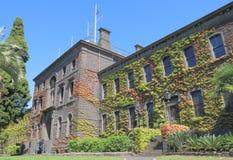 维多利亚喝倒采历史修造的墨尔本澳大利亚 免版税库存照片