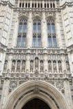 维多利亚塔,议会,威斯敏斯特议院;伦敦 库存照片