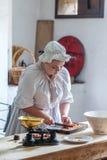 维多利亚女王时代的厨师 免版税库存照片