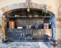 维多利亚女王时代的厨房 库存图片