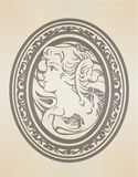 维多利亚女王时代的图表 免版税库存图片