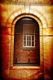 维多利亚女王时代的大厦门 库存照片