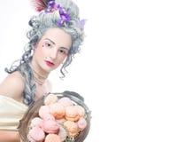 维多利亚女王时代的夫人。 免版税图库摄影