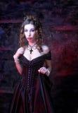 维多利亚女王时代的夫人。 库存照片