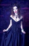 维多利亚女王时代的夫人 库存照片